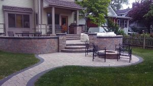 Outdoor patio project by Ultimate Granite and Design, Glendale Heights