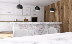 Marble counters by Ulitimate Grantite and Design, Glendale Heights